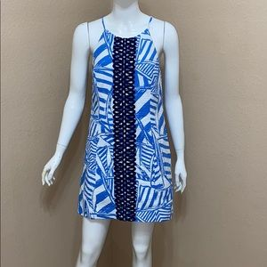 Lilly Pulitzer Annabelle Shift Sailboat Dress